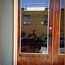 Lockhart Texas, Reflection Selfie in Clean Glass by Jack McCabe