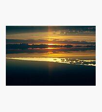 Sunrise: Lens Interference Photographic Print