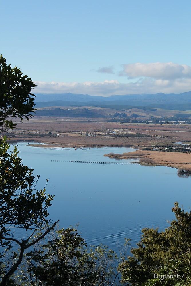 NZ Lake Taupo New Zealand by Brython67