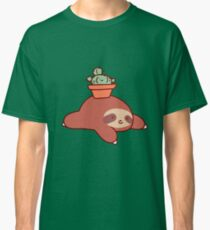 Sloth and Cactus Classic T-Shirt