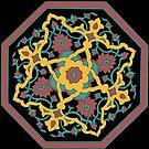 Rose Mandala by redqueenself