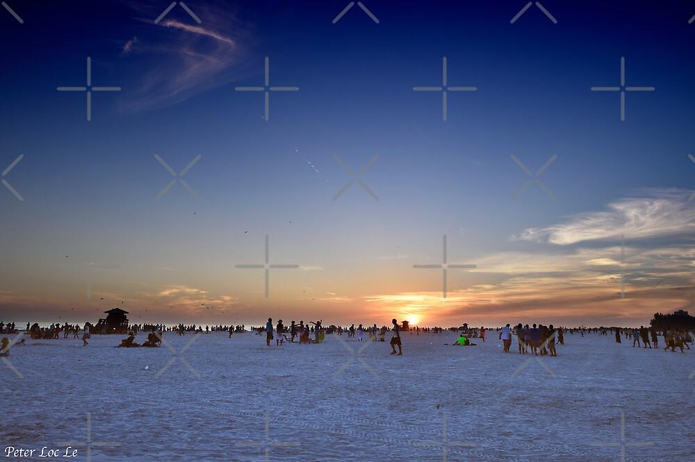 Siesta Key Beach by Peter Le