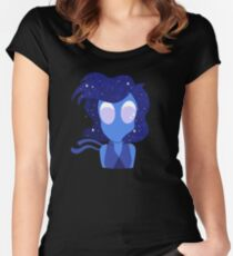 Lapis - Galaxy Women's Fitted Scoop T-Shirt