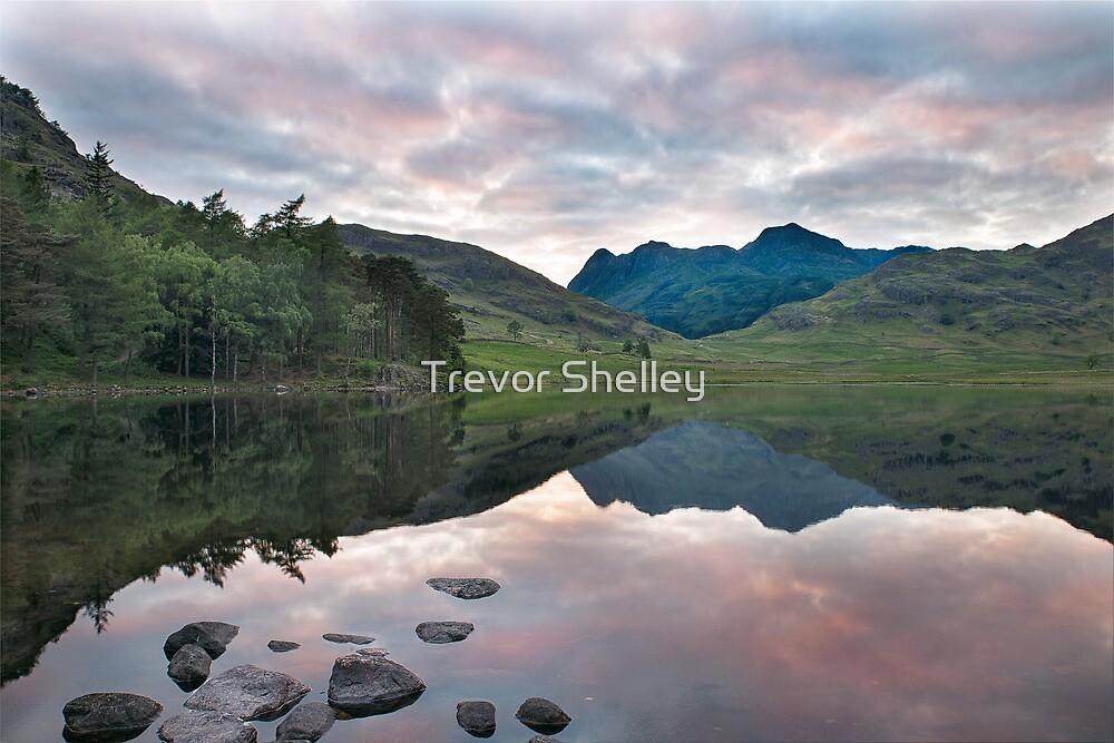 Blea tarn - Sunset  by Trevor Shelley