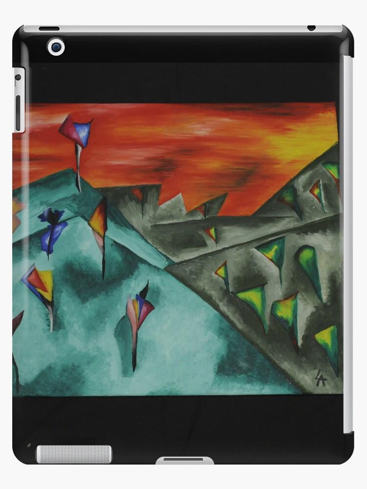 "Tablet cover - Laura Ann Alker ""Individualism"" by RedDusk"