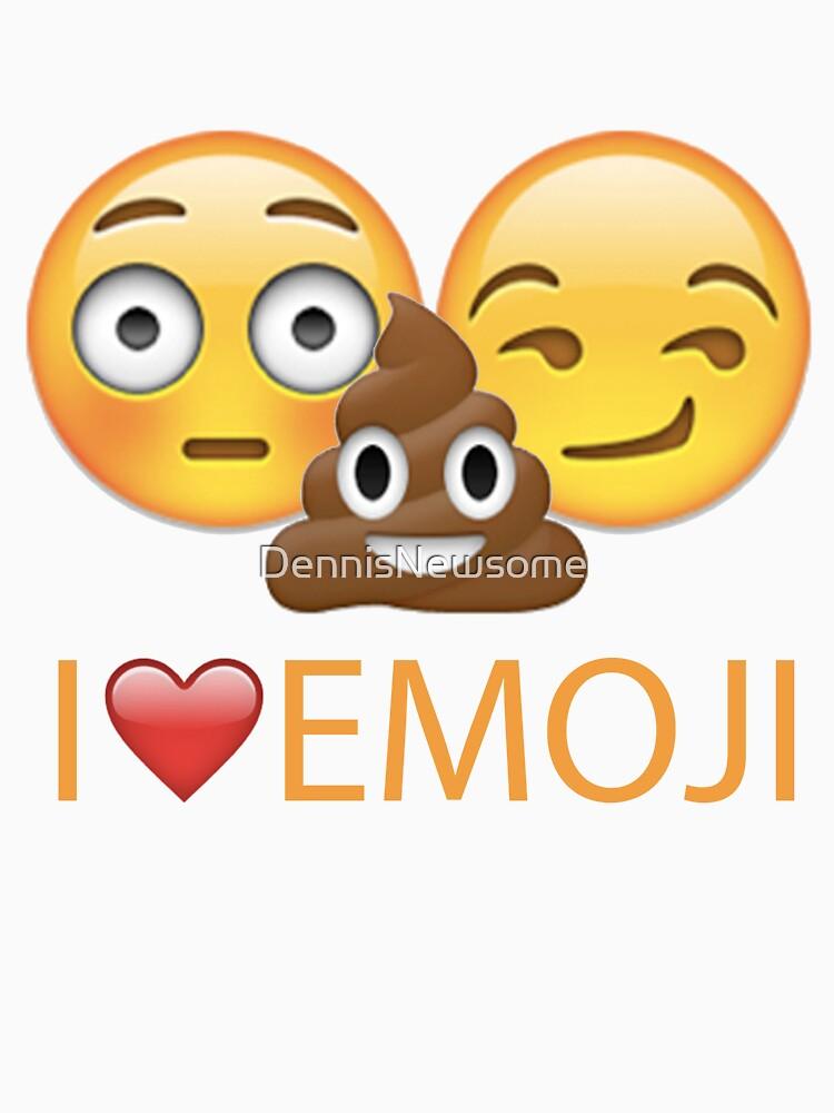 I <3 Emoji Shirt by DennisNewsome
