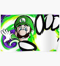 Luigi | Fireball Poster