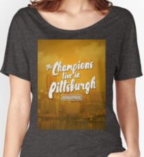 City of Champions Women's Relaxed Fit T-Shirt