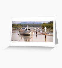 Calm Waters Forster NSW 01 Greeting Card