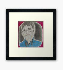 American business magnate, entrepreneur, philanthropist, investor, and programmer Framed Print