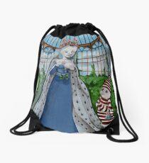 Agnes Sorel Drawstring Bag