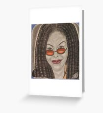 an American comedian, actress, singer,writer, and television host Greeting Card
