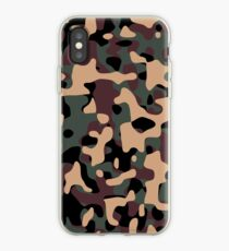 Woodland Camouflage iPhone Case