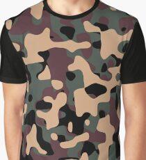 Woodland Camouflage Graphic T-Shirt