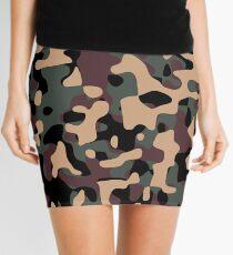 Woodland Camouflage Mini Skirt