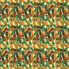 Pineapples print by crazyowl