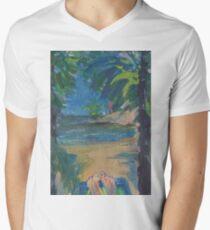 CHILL TIME(C2016) Men's V-Neck T-Shirt