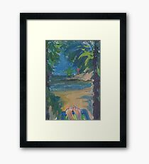 CHILL TIME(C2016) Framed Print