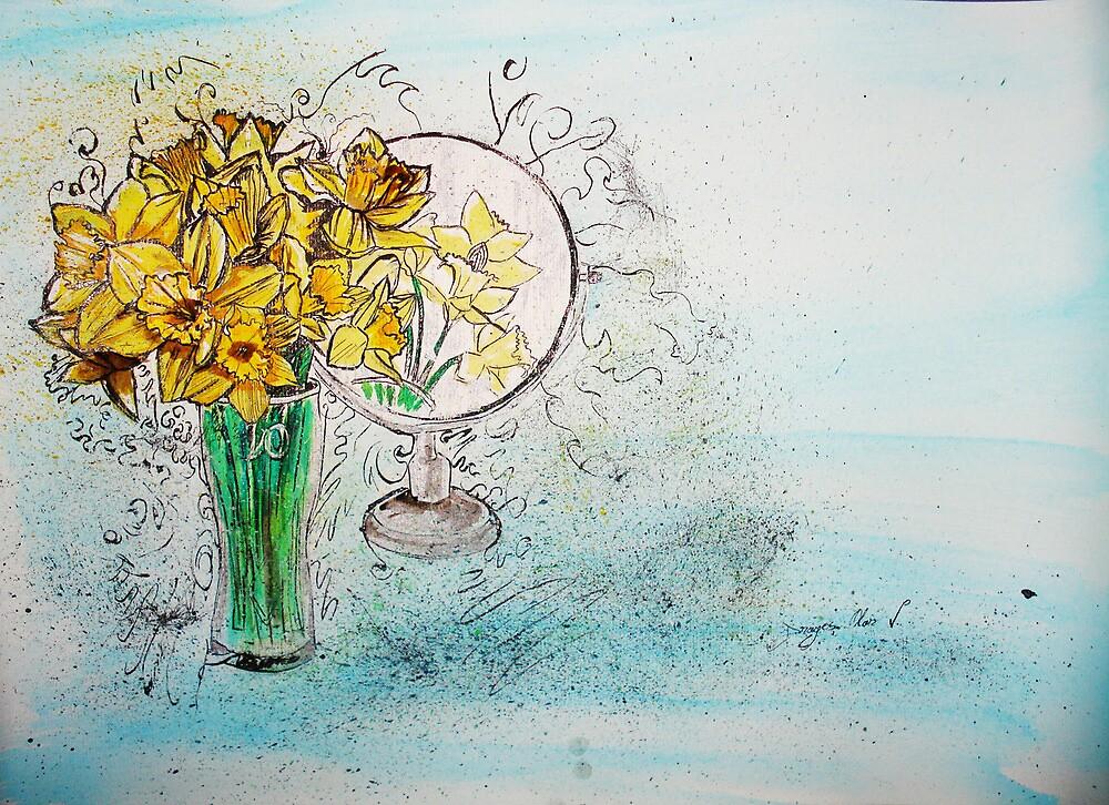 Daffodils by Dragos Olar V