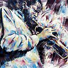 Portrait of Donald Byrd by Franko Camue