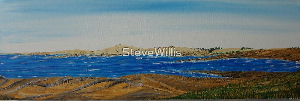 August Seashore by SteveWillis