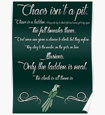 Chaos is a ladder~ Littlefinger Poster