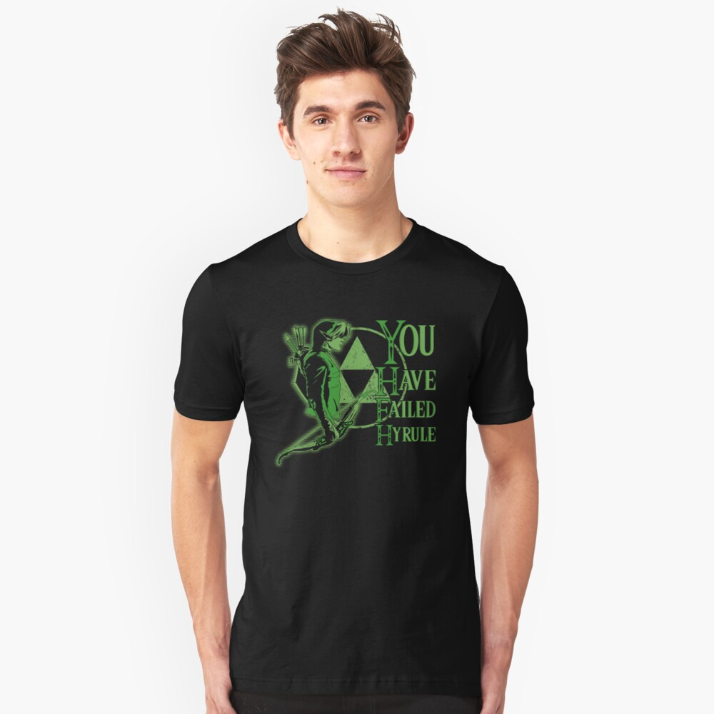 you have failed hyrule Unisex T-Shirt Front