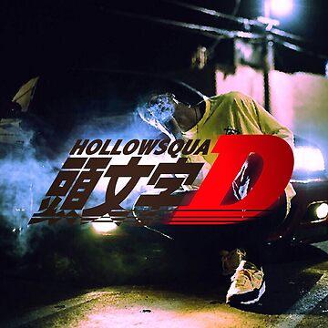 Xavier Wulf Hollow Squad Initial D by JuicySchinken