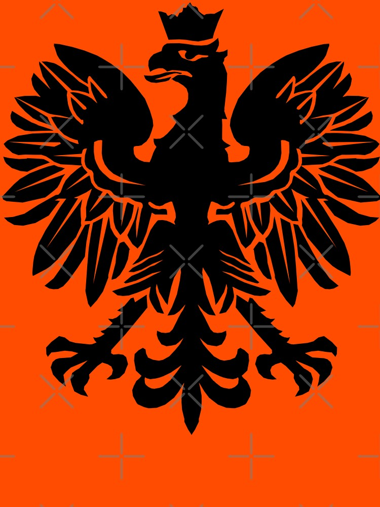 Polish Flag Eagle by GrizzlyGaz