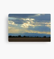 Mountain view Livermore Canvas Print