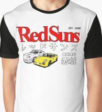 Initial D - Akagi RedSuns Graphic T-Shirt