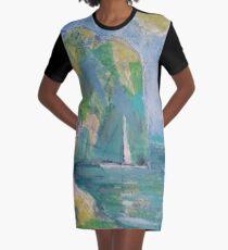 RESTING SPOT(C2016) Graphic T-Shirt Dress