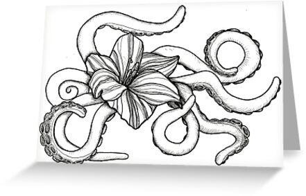 Octoflower by Alyssa Jo Schantek