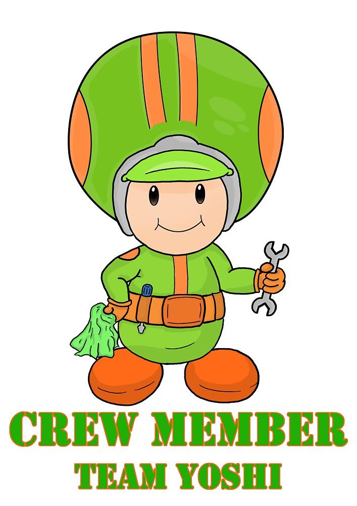 Team Yoshi crew member by vdBurg