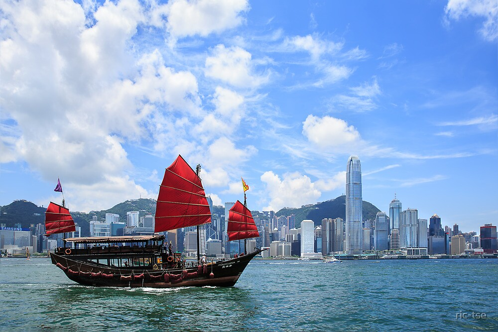 Hong Kong Victoria Harbor by ric-tse