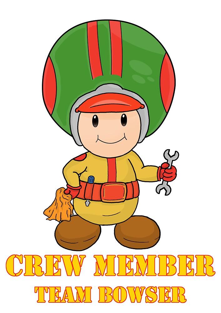 Team Bowser crew member by vdBurg