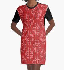 Oxytocin Pattern B Graphic T-Shirt Dress