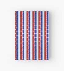 Ooh la la the French flag Hardcover Journal