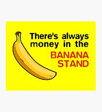 Arrested Development: Banana Stand Money Photographic Print