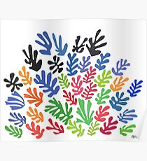 La Gerbe by Matisse Poster