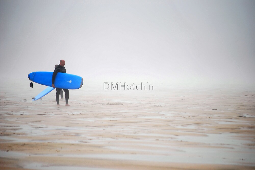 Surfer at Misty Watergate by DMHotchin