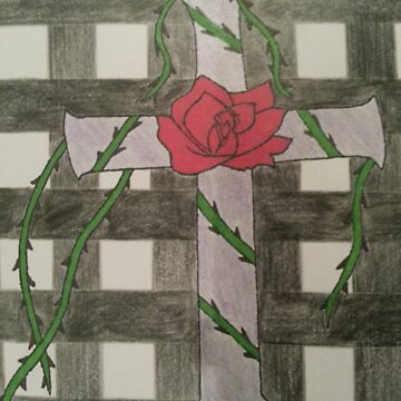 Rose of the Cross by CandyFlossBoss