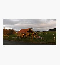 Old Farm Shed Magilligan County Derry Ireland Photographic Print