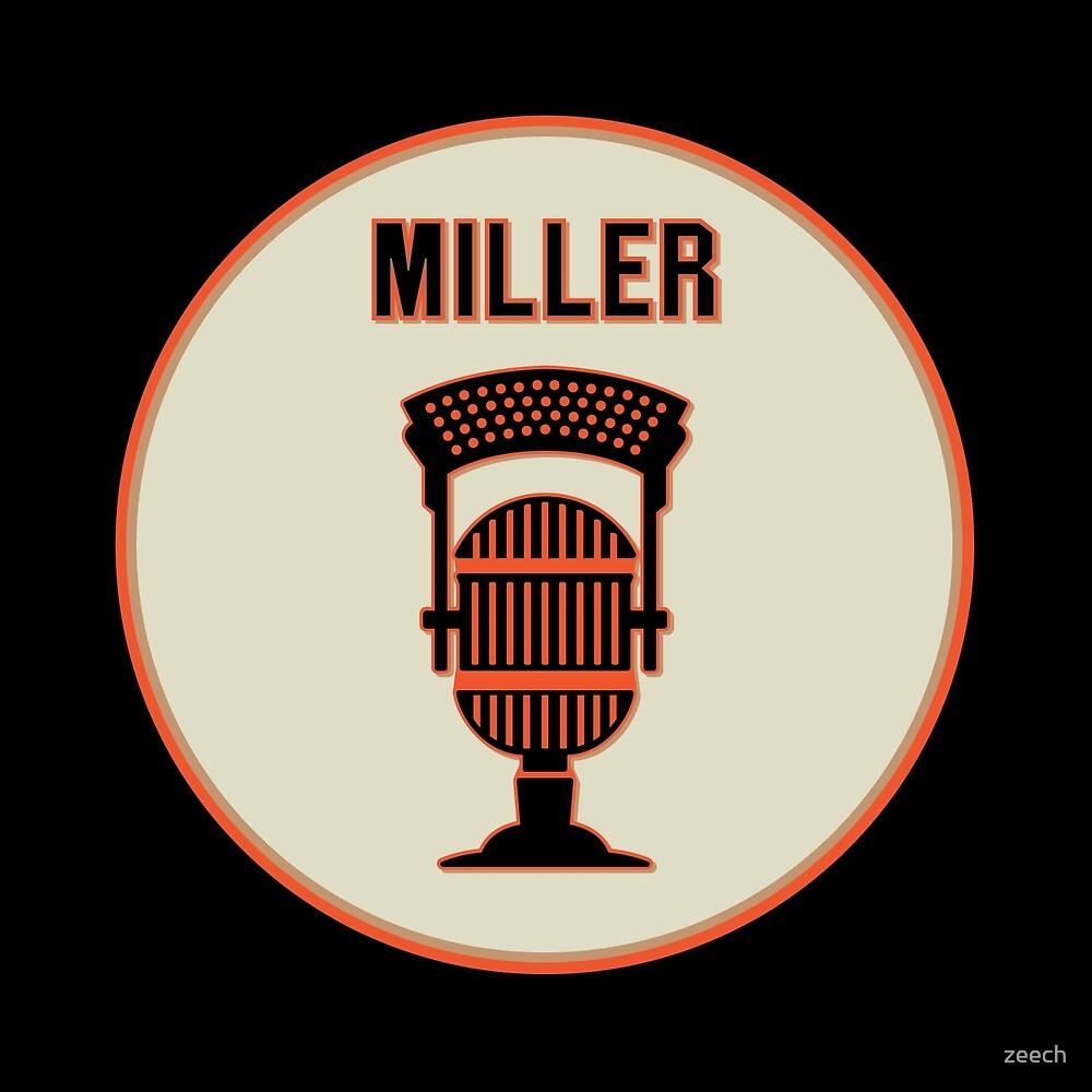 SF Giants HOF Announcer Jon Miller Pin by zeech