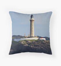 Ardnamurchan Lighthouse Scotland Throw Pillow
