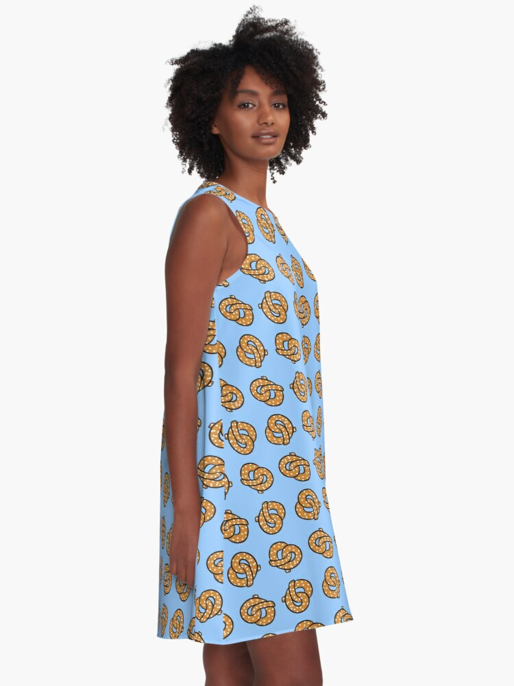 Alternate view of Dancing Pretzels A-Line Dress