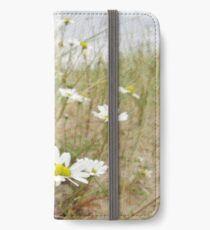 White n Yellow Lisfannon beach County Donegal Ireland iPhone Wallet/Case/Skin