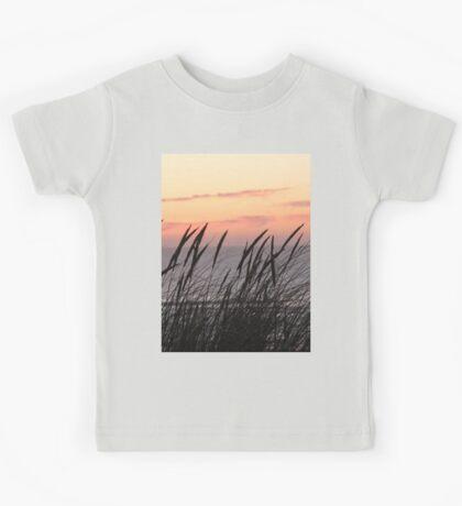 Dune Grass At Sunset Kids Clothes