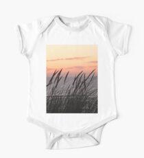 Dune Grass At Sunset One Piece - Short Sleeve