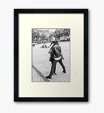 The Kiss, 2014 Framed Print